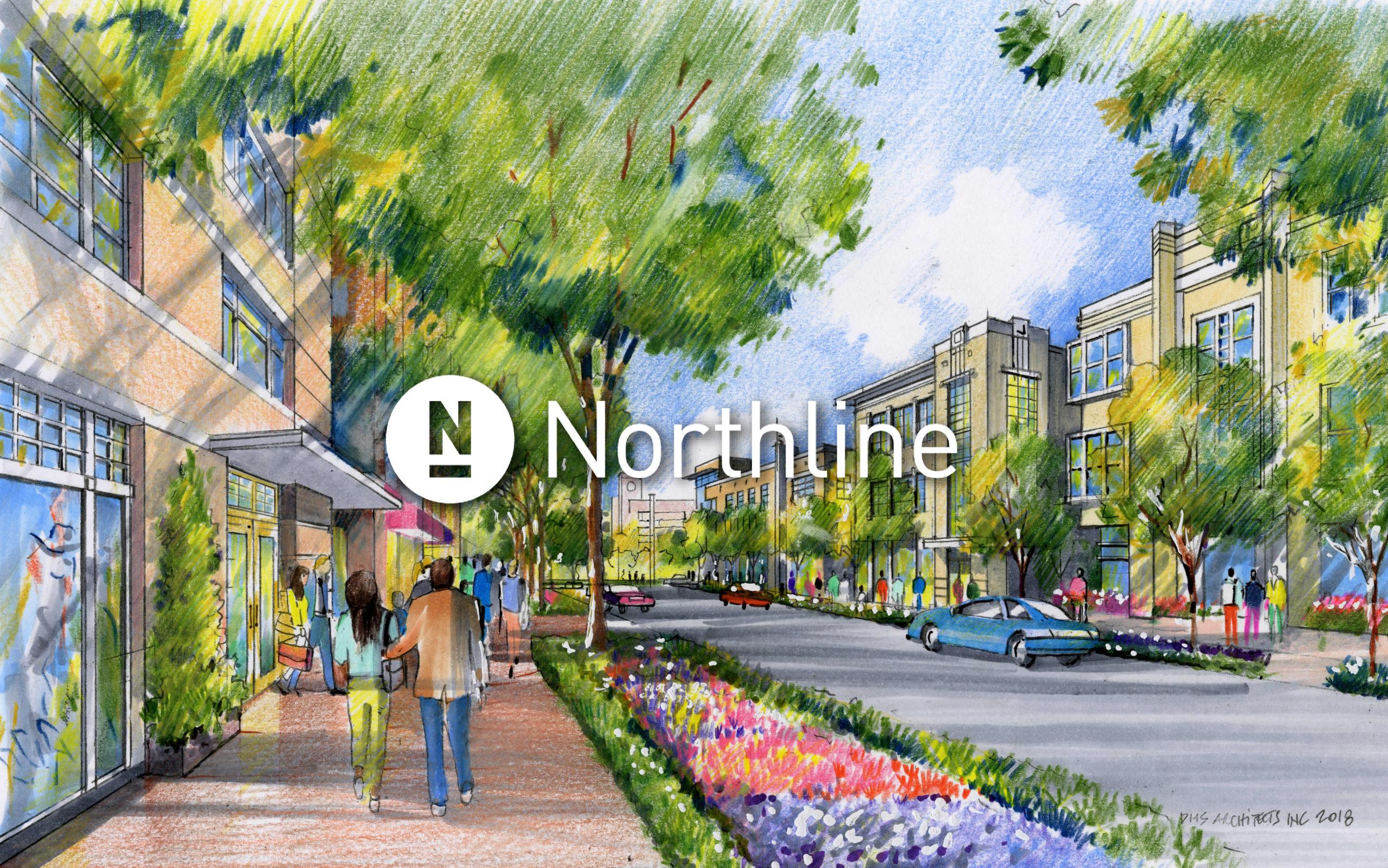 Northline Leander rendering